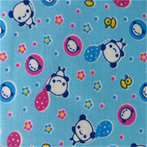 Cotton Flannel Fabric For Baby Blanket,print cotton flannel fabric
