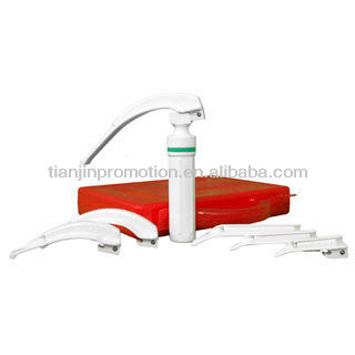 Disposable Polycarbonate Fibre Optic Laryngoscope Set
