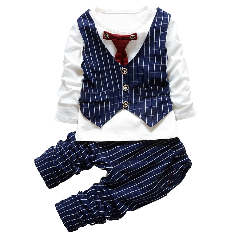 1 2 3 4 Years Tie wedding suits for baby boys wedding clothes boy birthday dress