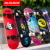 Wholesale 31 inch 7 ply twin tip board maple wood double kick skateboard