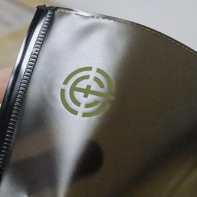 Custom Color Zipper Bag Biodegradable Plastic PVC Bags With Own Logo Custom Printed Resealable Ziplock Bags