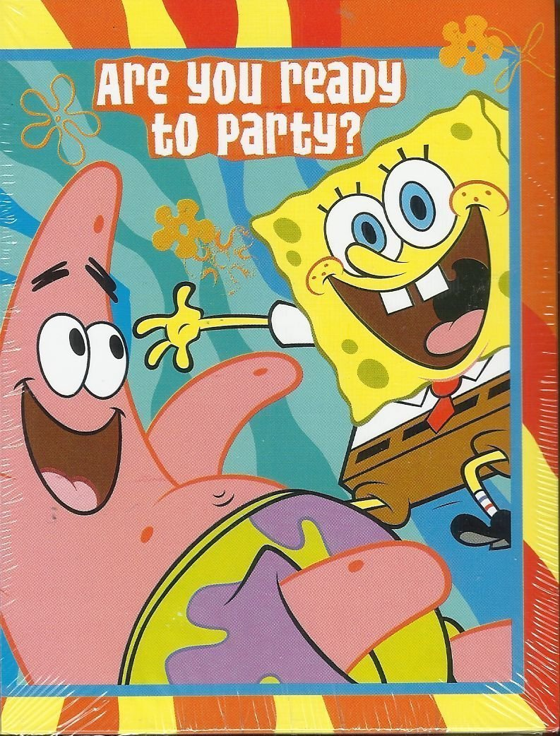 Cheap Spongebob Party Invitations, find Spongebob Party Invitations ...