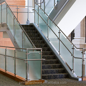 Commercial Glass Railing, Balustrade for Shopping Mart, Staircase Glass Railing