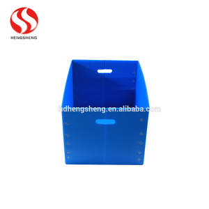 PP corrugated cardboard is absolutely harmless foldable plastic container box