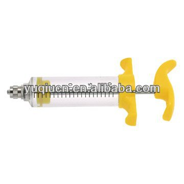 veterinary plastic syringe