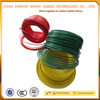 Customized copper bv wire Wholesale UK fabric coated electrical power wire cables power cable,cotton insulated copper wire