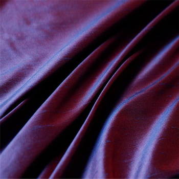 In Stock 140CM Width Dupion Silk Fabric Dyed Silk Fabric 100% Silk Pure for Clothing