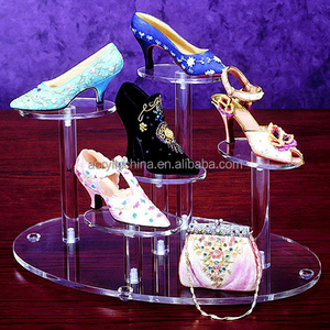 2015 manufacture simple design acrylic model of shoe rack