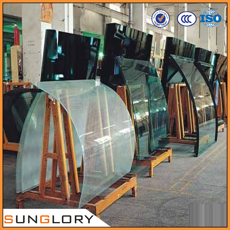 Curved Laminated Glass/ Laminated Glass Panel / Laminated Glass Handrail