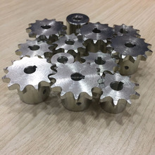 galvanized steel sprocket standard 06b 10 teeth 12 teeth Finished Bore Sprockets