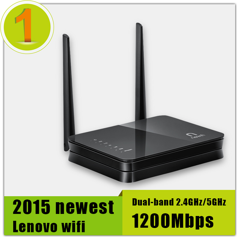 Store Promotion 100 Original Lenovo Wi fi Router Dual band 2 4GHz 5GHz Maximum 1200Mbps Support