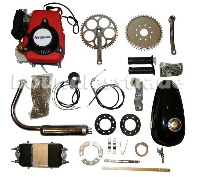 OPHIR 4 Stroke 49CC Motorized Bicycle Cycle Bike Gas Engine