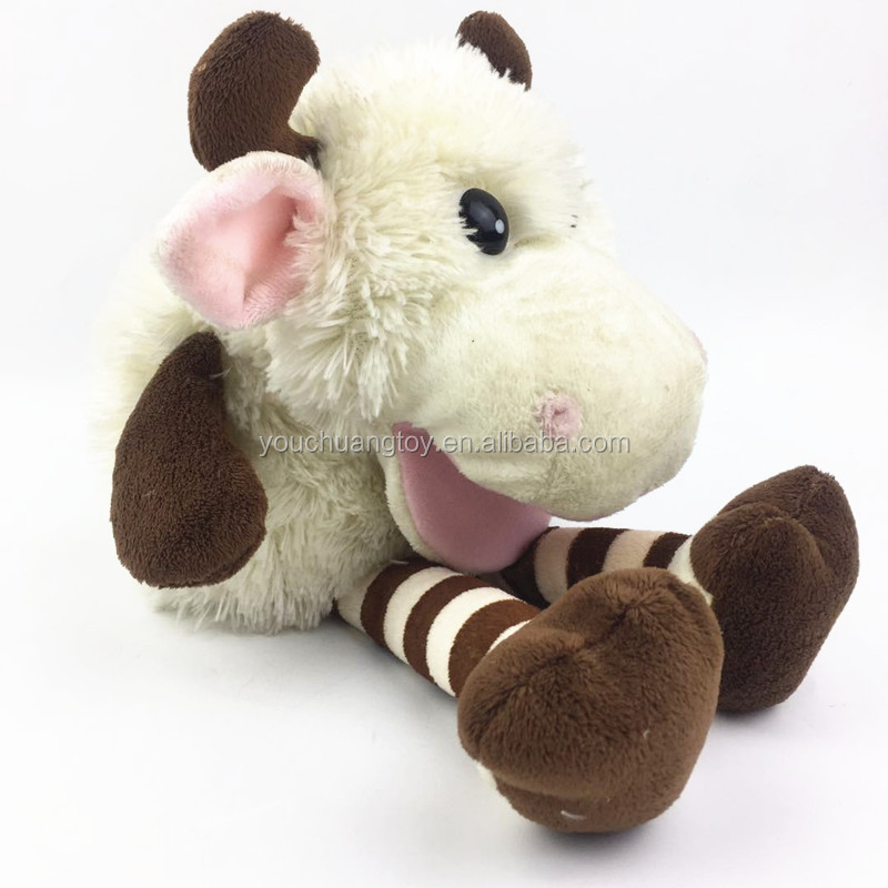 plush cow ox cattle hand puppet for sale