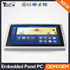 "Embedded fanless i3/i5/i7 CPU 12"" touch screen panel pc touch screen all in one pc"