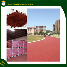 Factory specialized in pigment red Iron Oxide Red 130 for asphalt