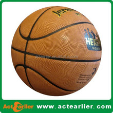 official size and weight shiny pvc basketball