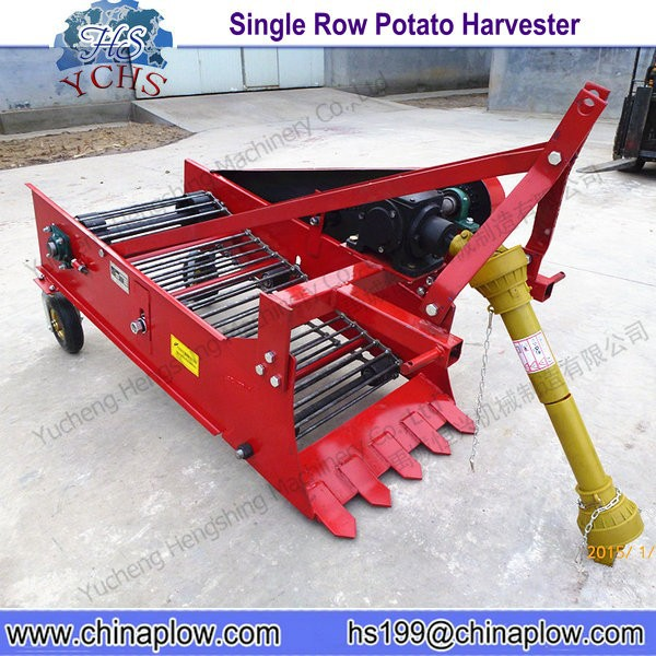 High Quality 1 Row Potato Digger Small Potato Harvester Factory
