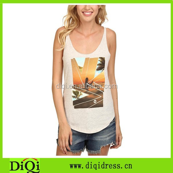 White tank top women's tops buy from china online