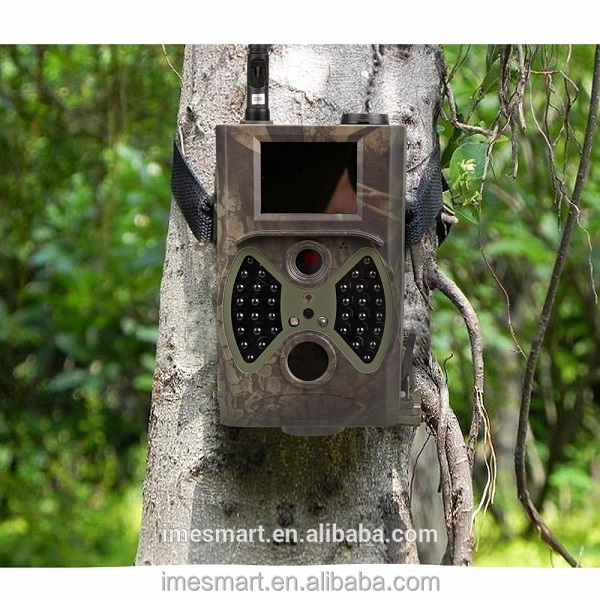 Portable Wildlife Hunting Camera 12MP HD Digital Infrared Scouting Trail Camera 940nm IR LED Night Vision for Outdoor Hunting