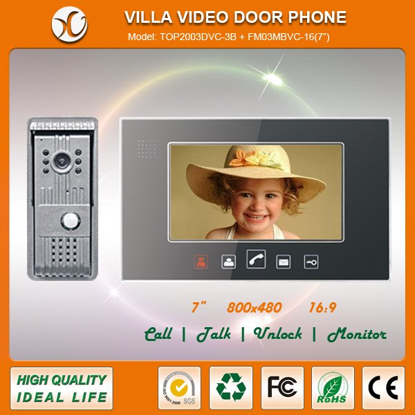 Wired doorbell and intercom