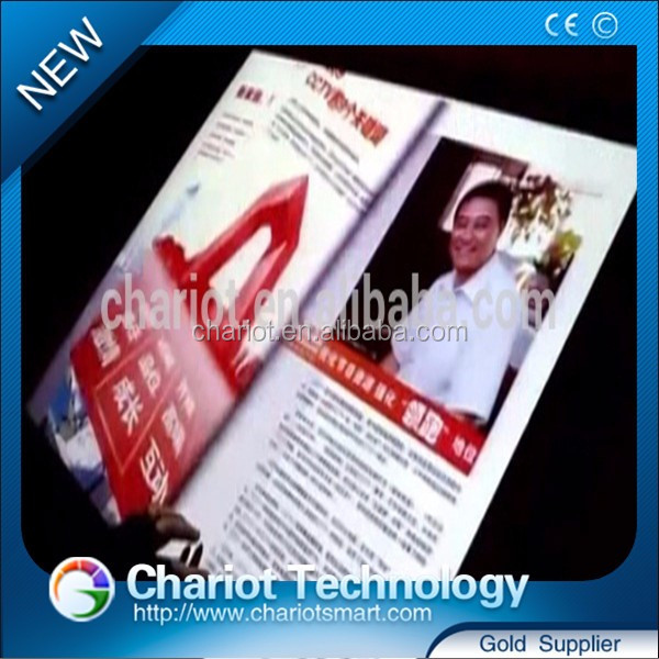 High quality Chariot indoor interactive projection virtual book, ebook give you an amazing reading experience.