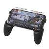 Not block screen Pr9 N9 transparent controller metal fire keys mobile game pad for Mobile PUBG