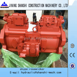 New Holland E215B hydraulic pump Kawasaki K3V112DT Kobelco pump ass'y