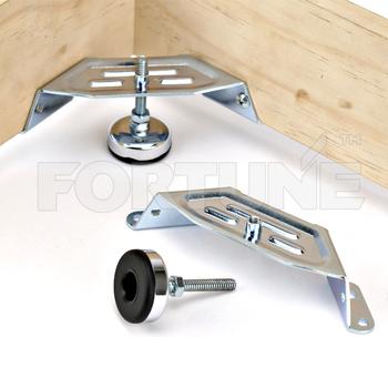furniture feet adjustable corner self leveling feet support buy self leveling feet adjustable. Black Bedroom Furniture Sets. Home Design Ideas