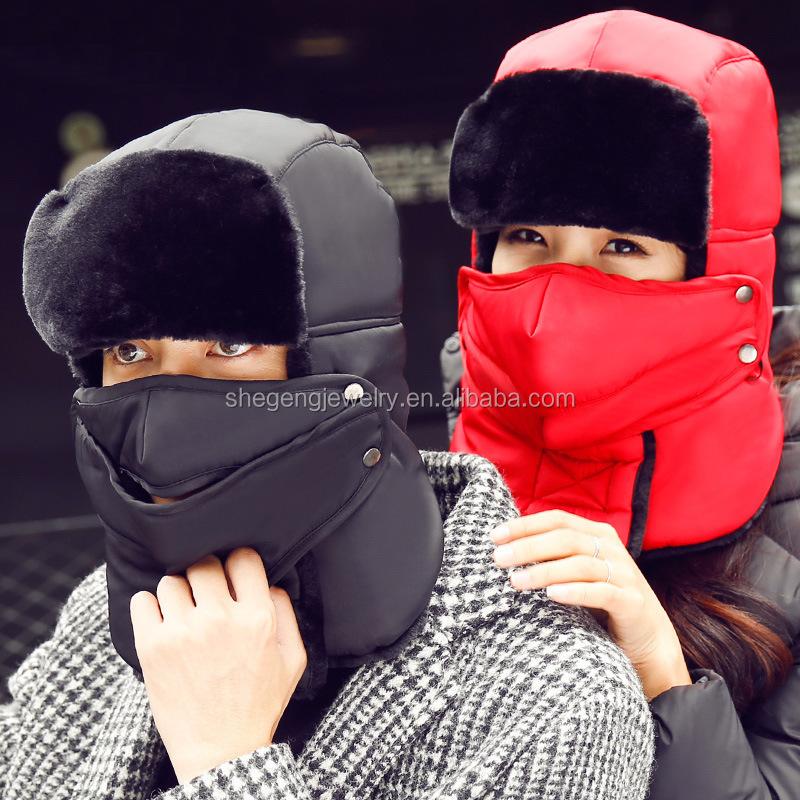 Outdoor Windproof Thick Warm Winter Snow Woman Cap - Buy Outdoor ... bbdcb27d81dd