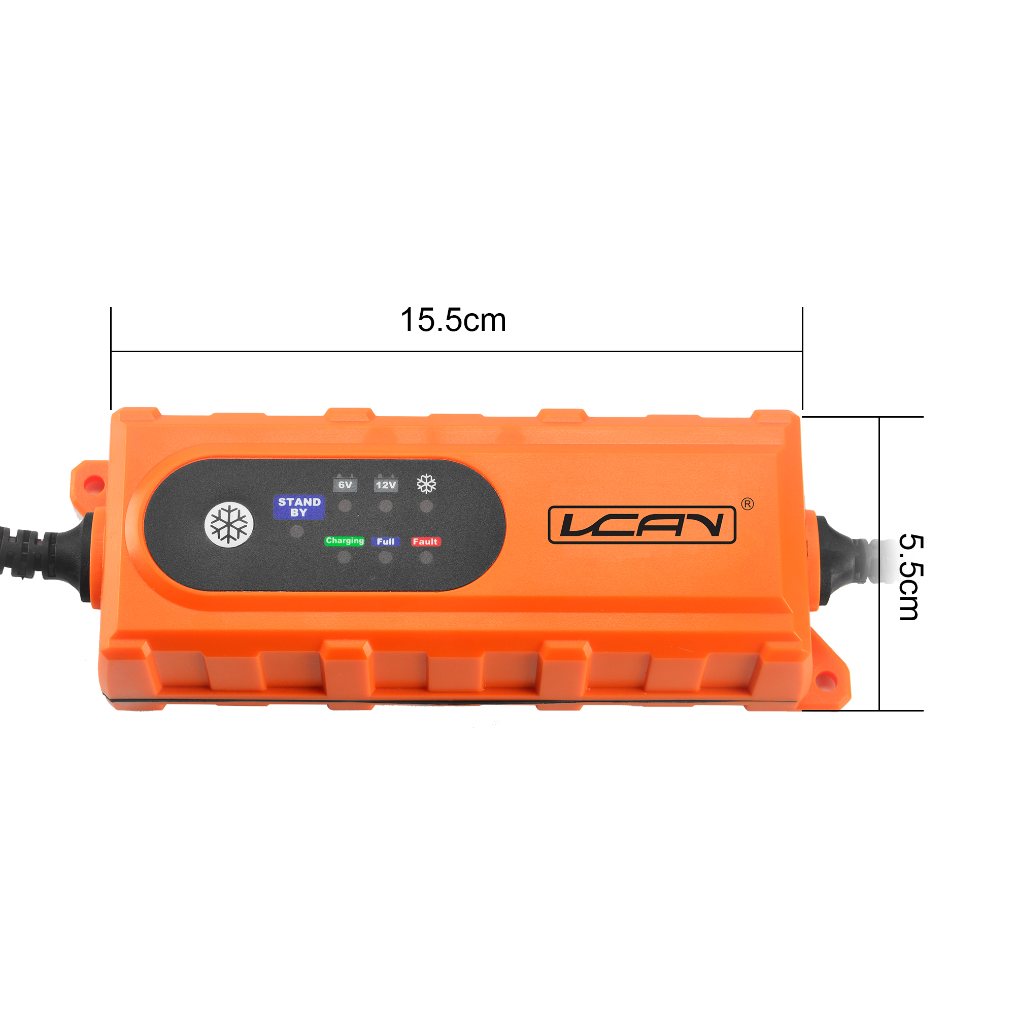 Wholesale Smart 0.8A/3.8A Electric Automatic Universal Auto 12V Car Battery Charger