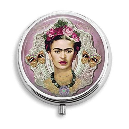 Frieda Kahlo Pill Box Pill Holder Pill Case Medicine Holder Decorative Box Mint Tin Vitamin Holder Small Craft Container Handmade Gifts For Her