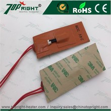 12v engine block heater silicon rubber heating pad