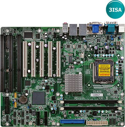 G41 Motherboard With 3 ISA / 5 PCI EL620-C