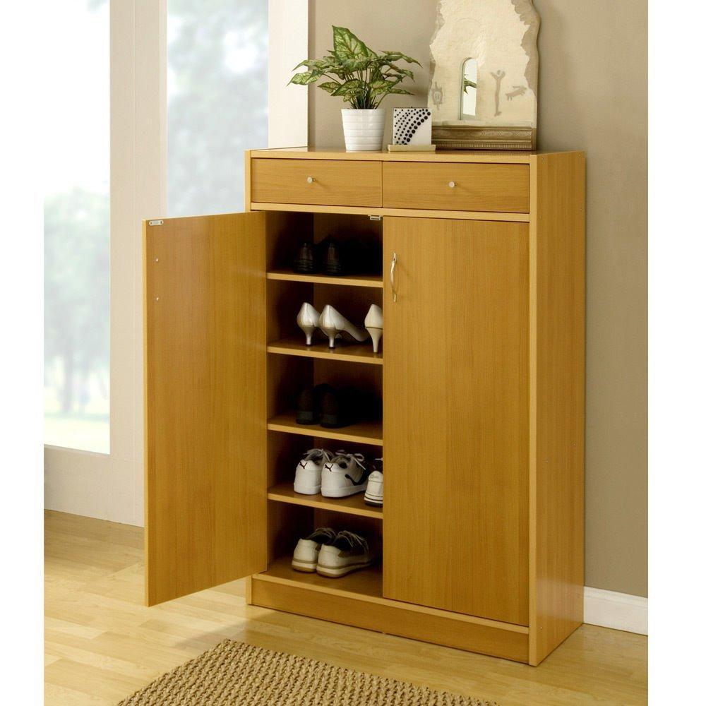 Get Quotations · 1PerfectChoice Organizer Shoe Storage Cabinet Adjustable Shelves Closet Drawers Golden Beech  sc 1 st  Alibaba & Cheap Beech Dvd Storage Unit find Beech Dvd Storage Unit deals on ...