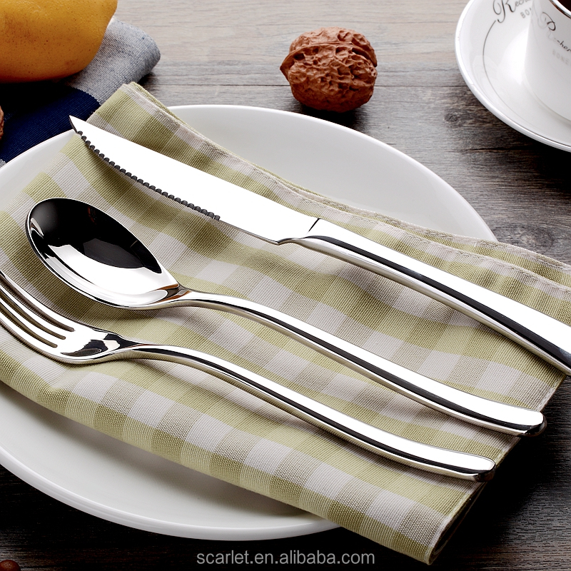 Disposable Knife /Fork /Spoon Food Grade Quality with Silver Coating/Christmas Cutlery Set China Manufacturer
