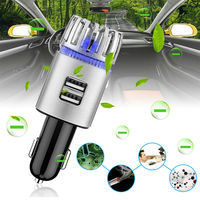 Top Sellers 2020 Mini Auto Car Fresh Air Ionic Purifier Air Freshener Deodorizer USB Charging (Car Air Purifier JO-6291)