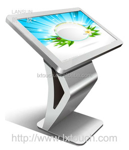 46inch LCD touch screen kiosk information display solutions
