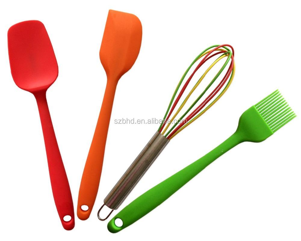 Utensilios de cocina set calidad cocina de silicona - Utensilios de cocina de silicona ...
