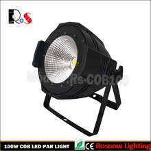 China led light design 1pc 100w COB led par can with 6in1 rgbwa+uv for stage lighting set