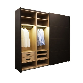 Plywood Bedroom Furniture Wardrobe Sliding Doors Closet Wardrobe With  Factory Price - Buy Free Standing Wardrobes Sliding Doors,Printed Sliding  Door ...