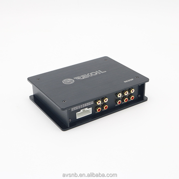 China Manufacturer Full Range Dsp Built In Car Audio Amplifier For