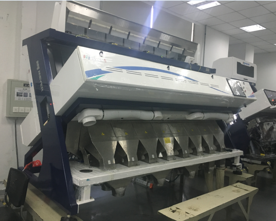 Meyer CCD Optical Sorting Machine Ancoo RS6-C Rice Color Sorter Ejector