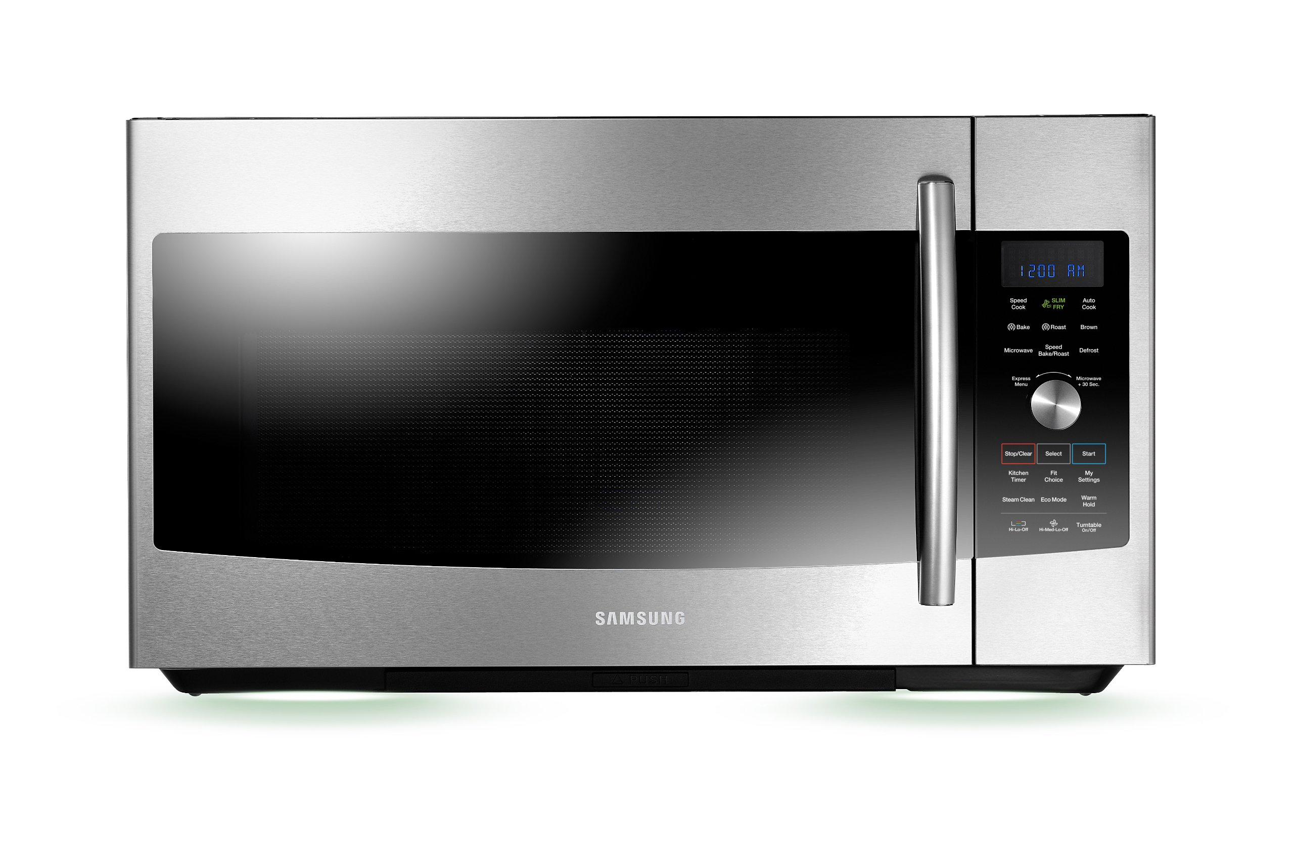Get Quotations Samsung Mc17f808kdt Over The Range Convection Microwave 1 7 Cubic Feet