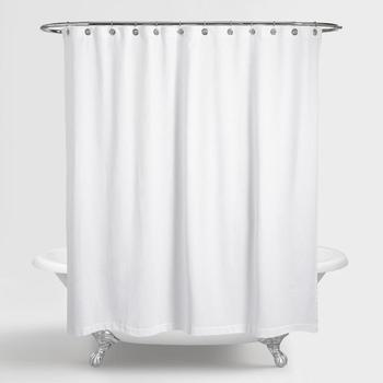 Polyester Custom Bath Shower Curtain Fabric