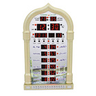 LCD Display Muslim Islamic Prayer Time Mosque Digital Azan Wall Clock