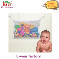 The Best Baby Bath Toy Organizer Toy Storage Bag + 2 Hooked Suction Cups