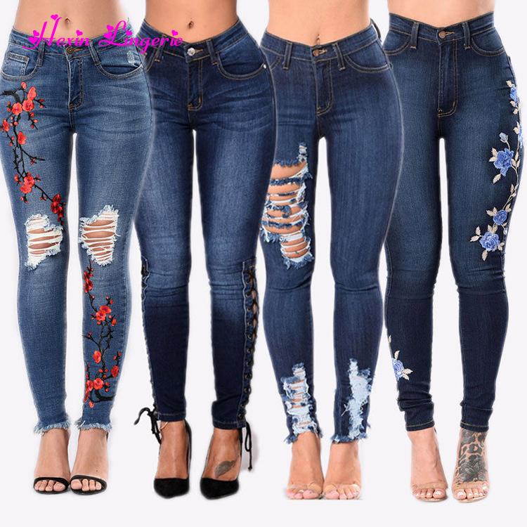 nueva llegada e5fb8 8c6f6 Private etiqueta 2018 baja precio venta caliente brasileña Jeans de mujeres