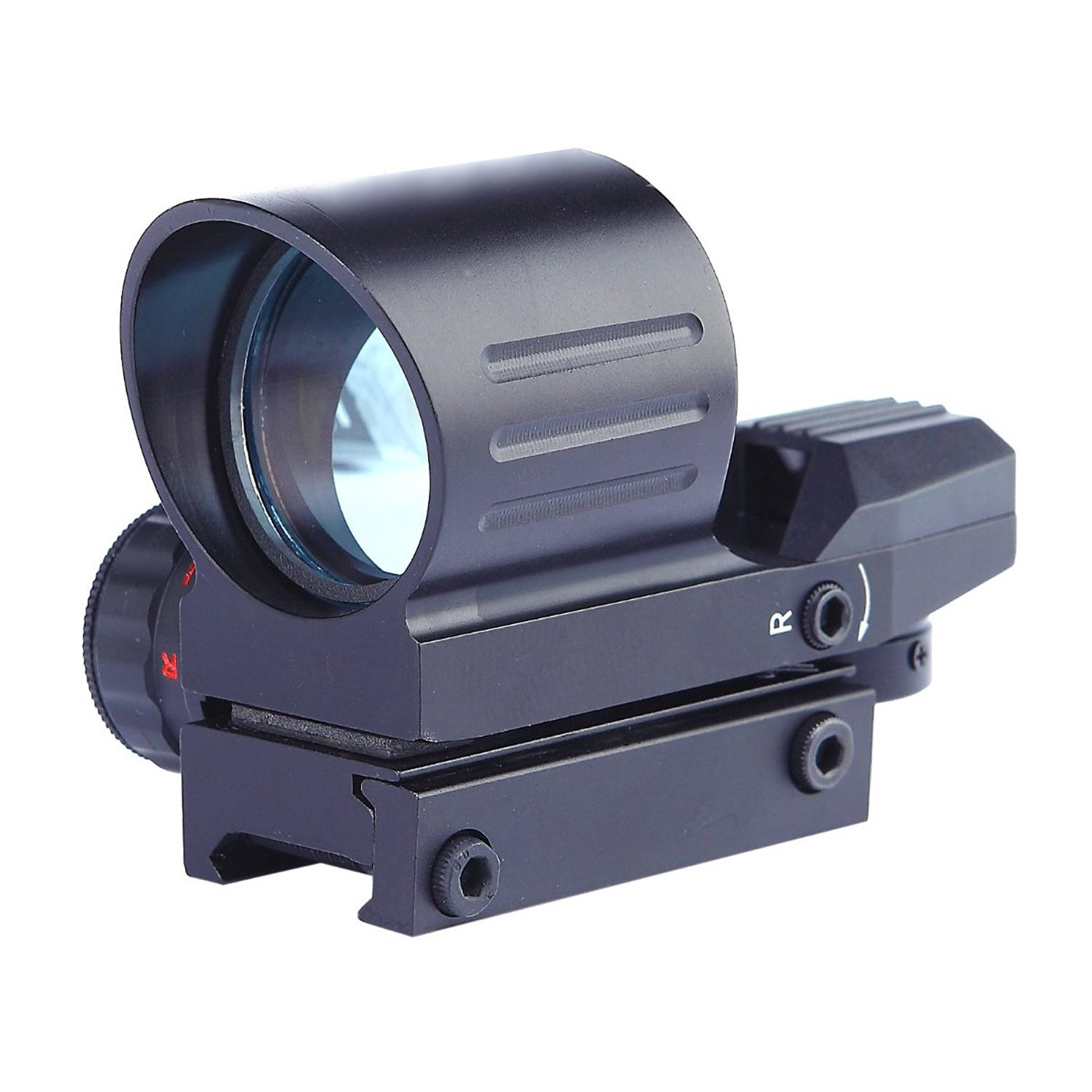 Freehawk Airsoft scope/Gun scope/Gun sights/Starter Packs/Scope Sight Red Dot Reflex sight- Reflex sight optic and substitute for holographic red dot sights