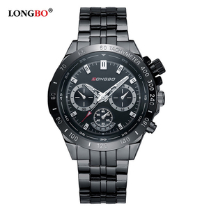 LONGBO 80393 Brand Men Brief Casual Quartz Wrist Watches Luxury Brand Quartz Watch Relogio Feminino Montre Femme Gift