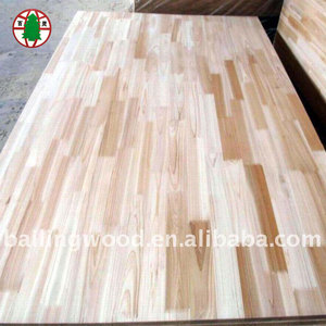 meranti finger joint laminated board with high quality